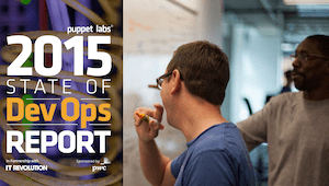2015 State of DevOps Report cover