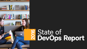 2016 State of DevOps Report cover