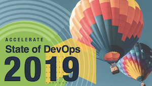 2019 State of DevOps Report cover
